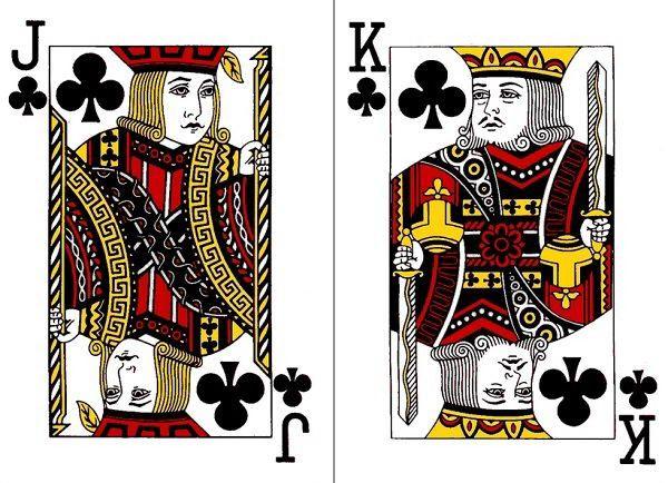 สัญลักษณ์ทั้ง 4 บนหน้าไพ่